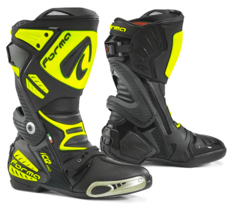 NEW FORMA ICE PRO Race Boots TOP END RACE BOOT at an EXCEPTIONAL PRICE