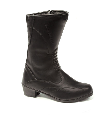 MOTODRY BOOTS LADY BELLA BLK - SPORTS/TOURING/CASUAL BOOTS