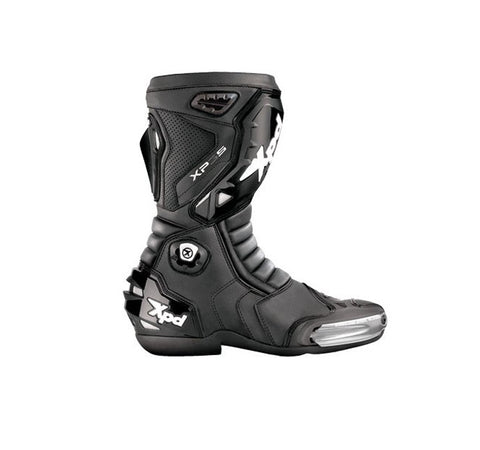 XPD XP3-S BOOTS CARBON LOOK MOTORCYCLE RACE BOOTS