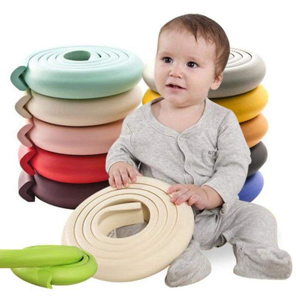 2m Bande de Protection d'angles / rebords de table en mousse - Sécurité Enfant Bébé