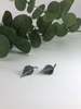 Large Leaf Stud Earrings