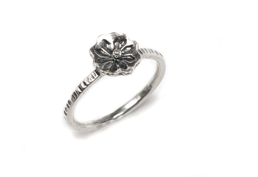 Flower Stacking Ring