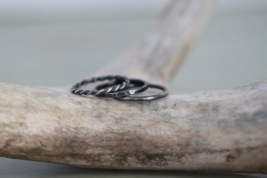 Set of 3 Customizable Stacking Rings