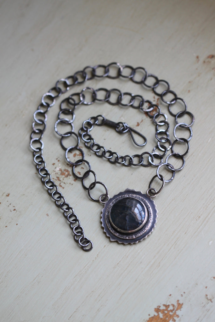 Labradorite Moonburst Necklace