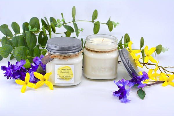 Spring Abounds 8.5 oz Soy Candle