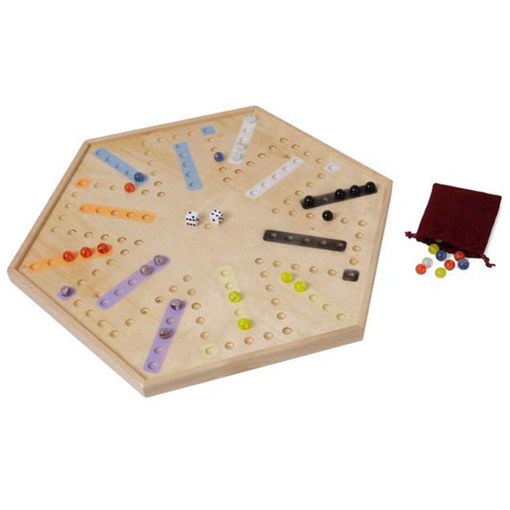 Aggravation Marble Game with Edge