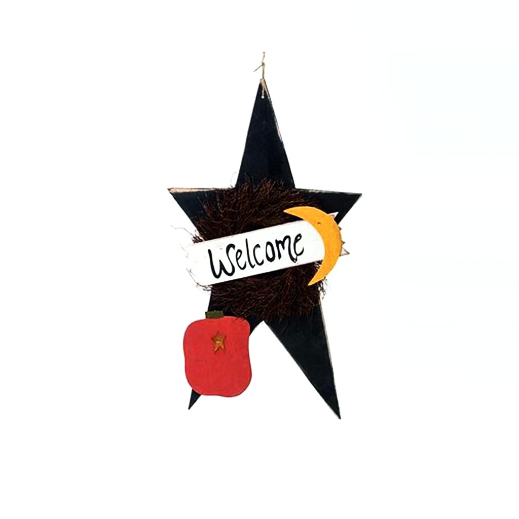 Extra Large Fall Star Fall Welcome Sign