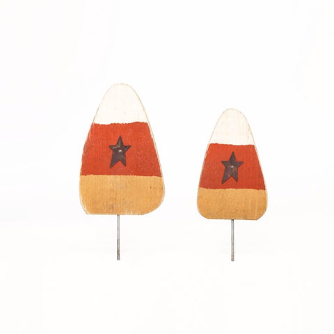 Candy Corn stick decorations