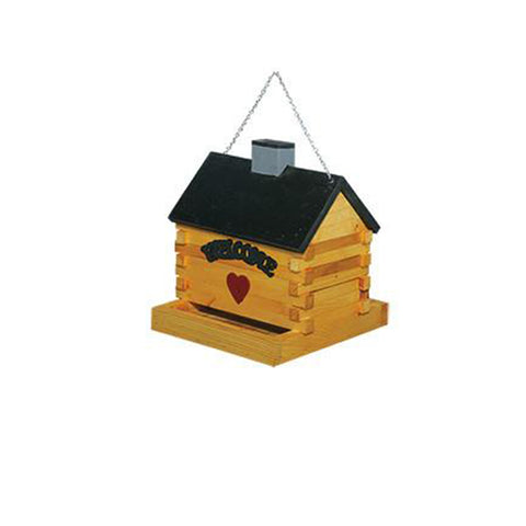LOG CABIN FEEDER