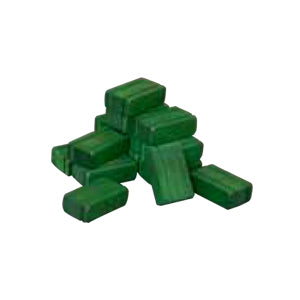 Hay Bales - green - 16 pc set