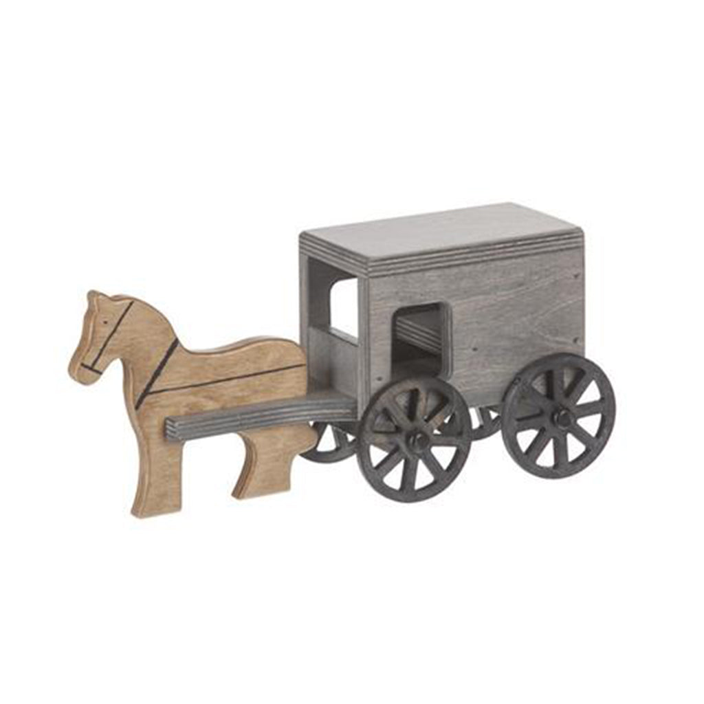 Horse & Buggy - Black/Grey