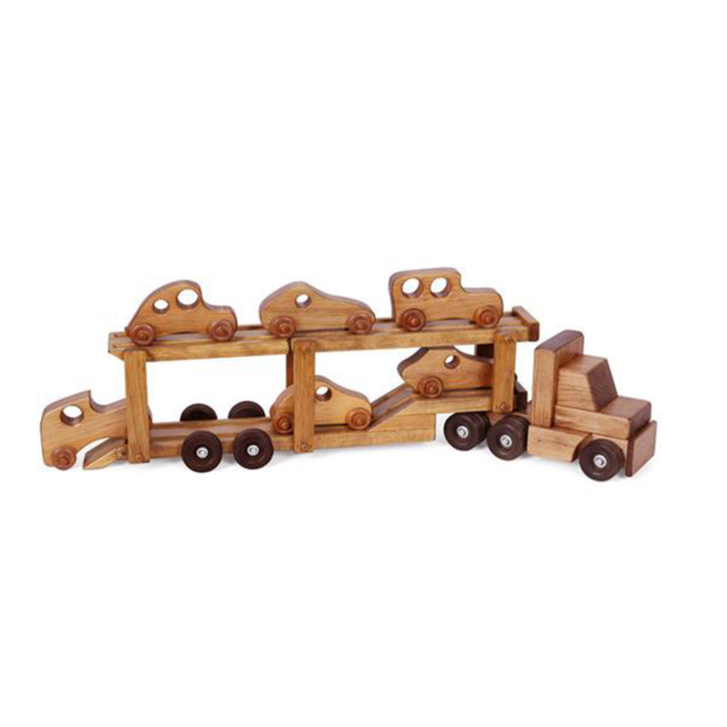 Truck (car carrier with 6 cars) - Harvest