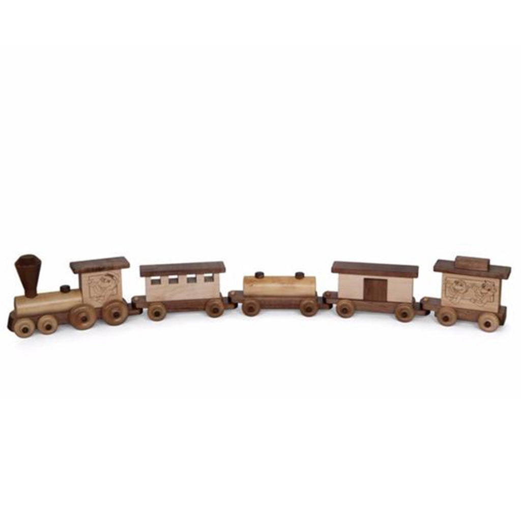Train Maple/Walnut