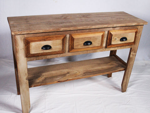 Ebersole Rustic style  Credenza - finished