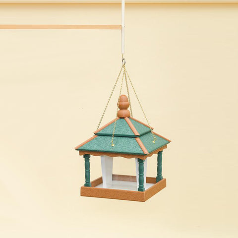 Square Hanging Bird Feeder