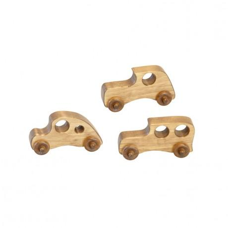 Cars - package of 3 (assorted wood car toys)