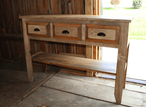 Ebersole Primitive Wall Table