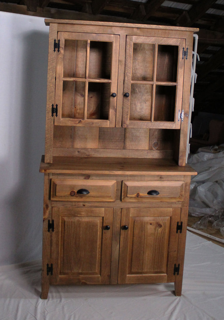 Ebersole Rustic style  Hutch - unfinished