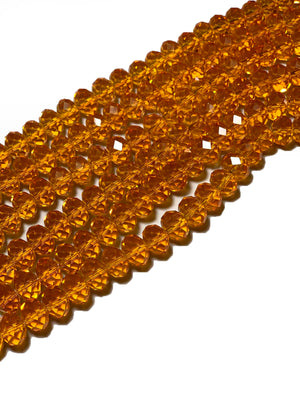 Citrine-colored Beads