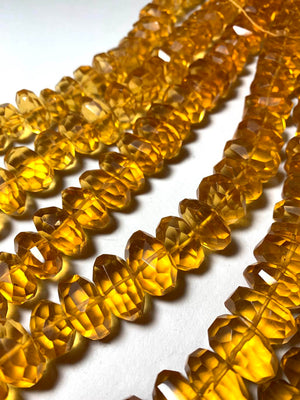 Citrine Nugget Beads