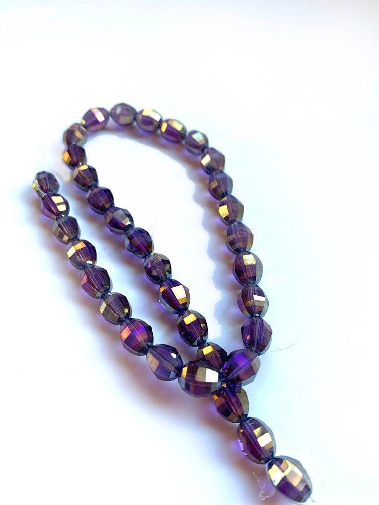 Purple Aurora Beads