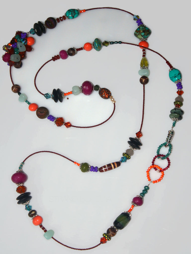 Embellish Strand Necklace - Bohemia