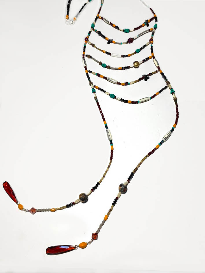 Ladder Necklace - RedTribal