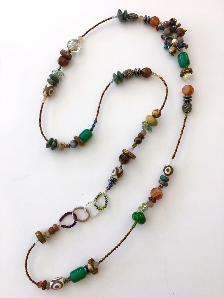 Embellish Strand Necklace - New Earth