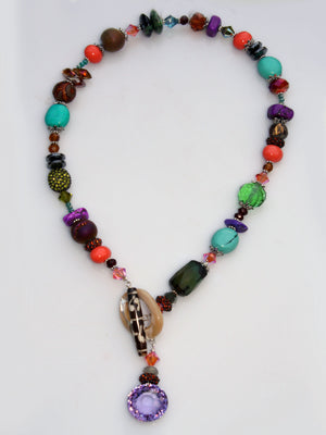 Tribal Toggle Necklace - Bohemia