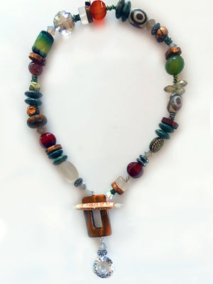 Tribal Toggle Necklace - New Earth