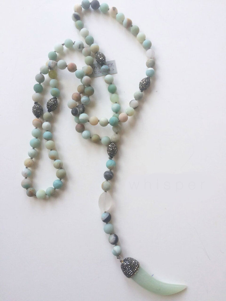 Zen Amazonite Necklace