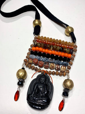 The Buddha Ladder Necklade