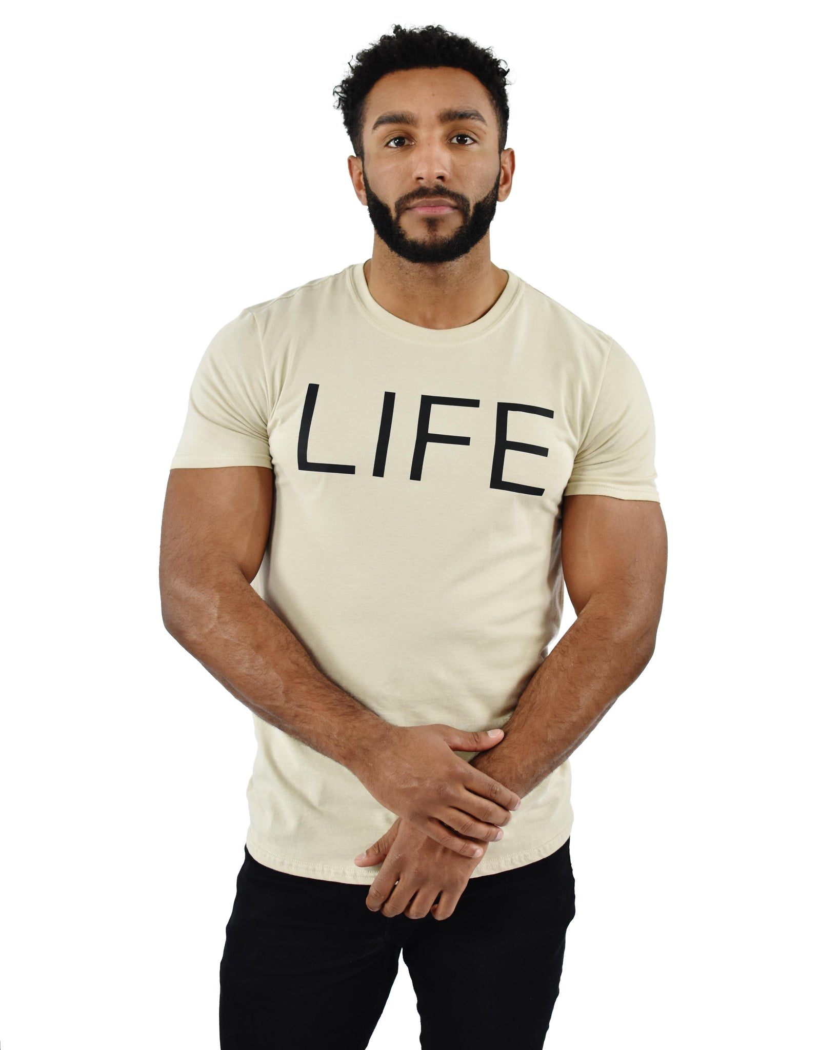Sand LIFE Statement T-Shirt