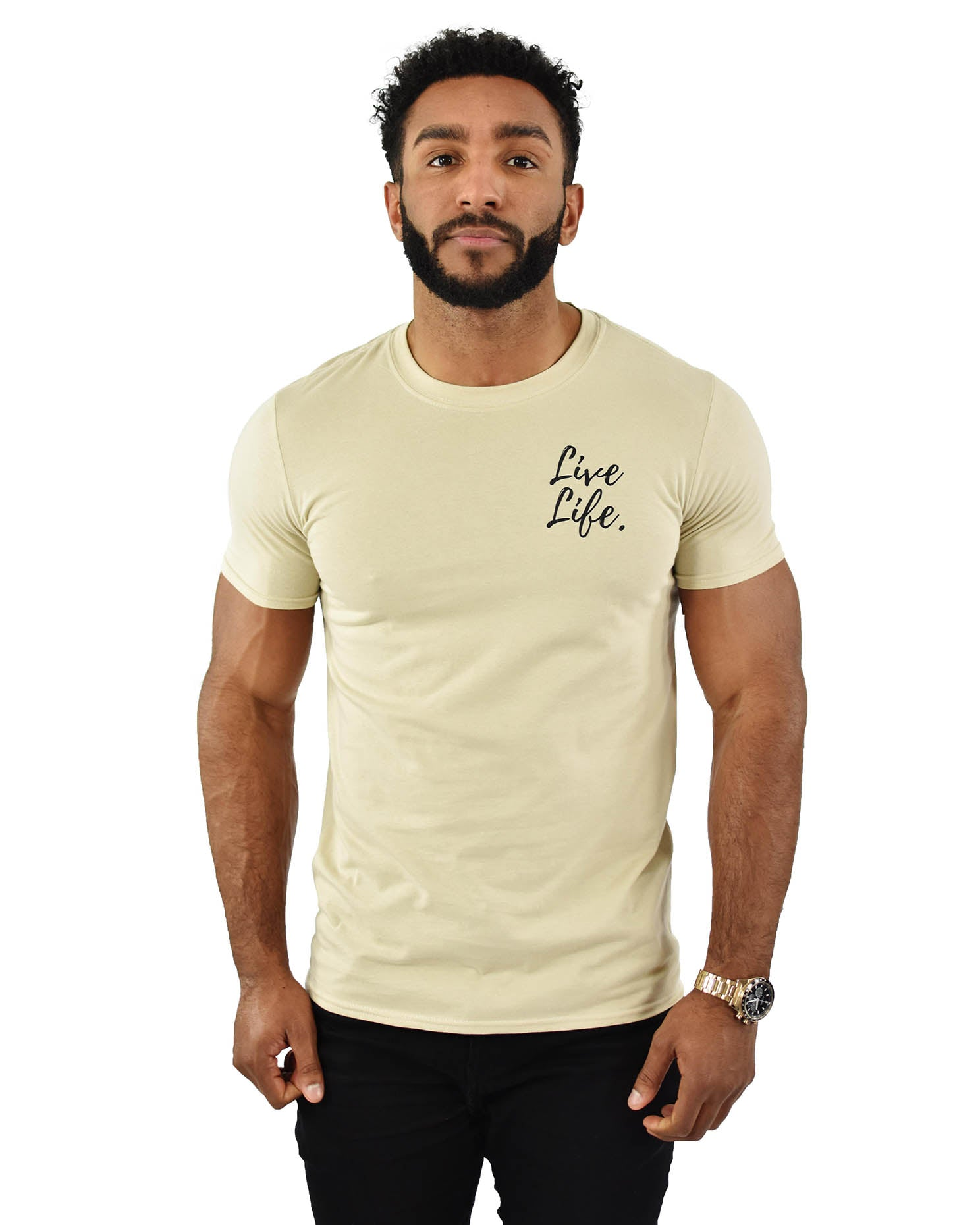 Sand Signature Small Logo T-Shirt