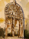 """Carved Door Study 2"" by Mmadi Ausiy"