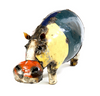 Hippo of Recycled Oil Drum - Multi-Color