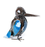 Kingfisher of Recycled Metal