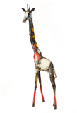 Giraffe of Recycled Oil Drum