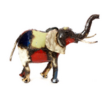 Recycled Oil Drum Elephant