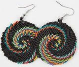 Zulu Telephone Wire Earrings