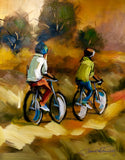 """Two Bicycles"" by Junior Fungai"
