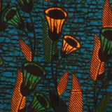 Set of 4 African Print Cotton Napkins