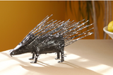 Porcupine of Recycled Metal
