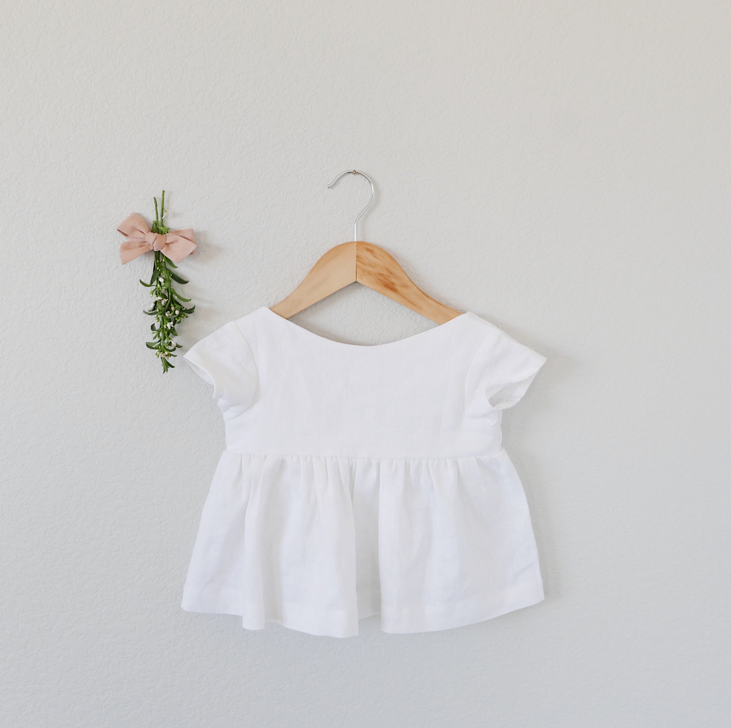 Lilly White - Holland Blouse