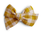 Sunshine Plaid - Big Mess Bow