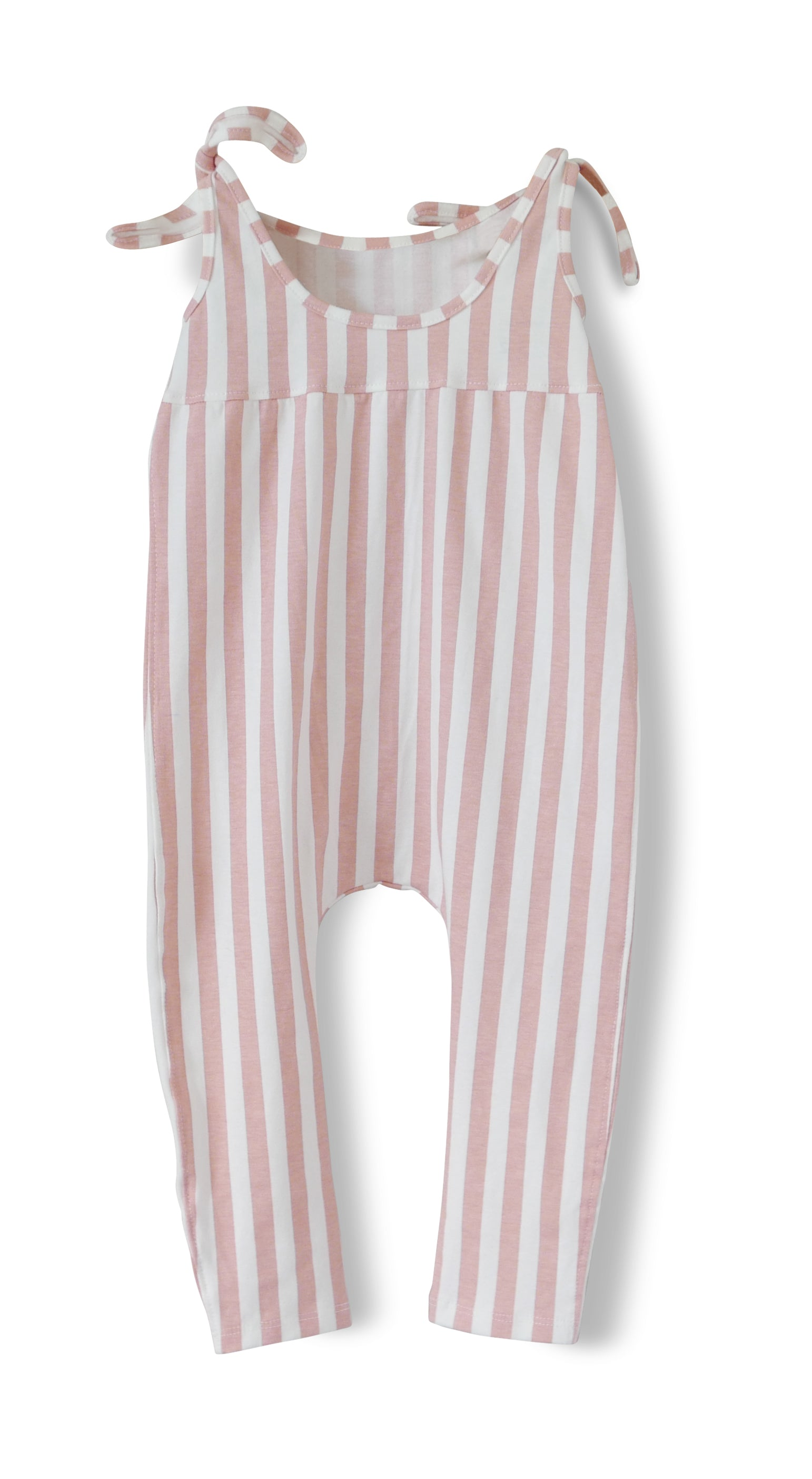 Strawberry Stripe - Hadley Romper