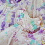 Small Batch Tie-Dye Lulu Ruffle Dress