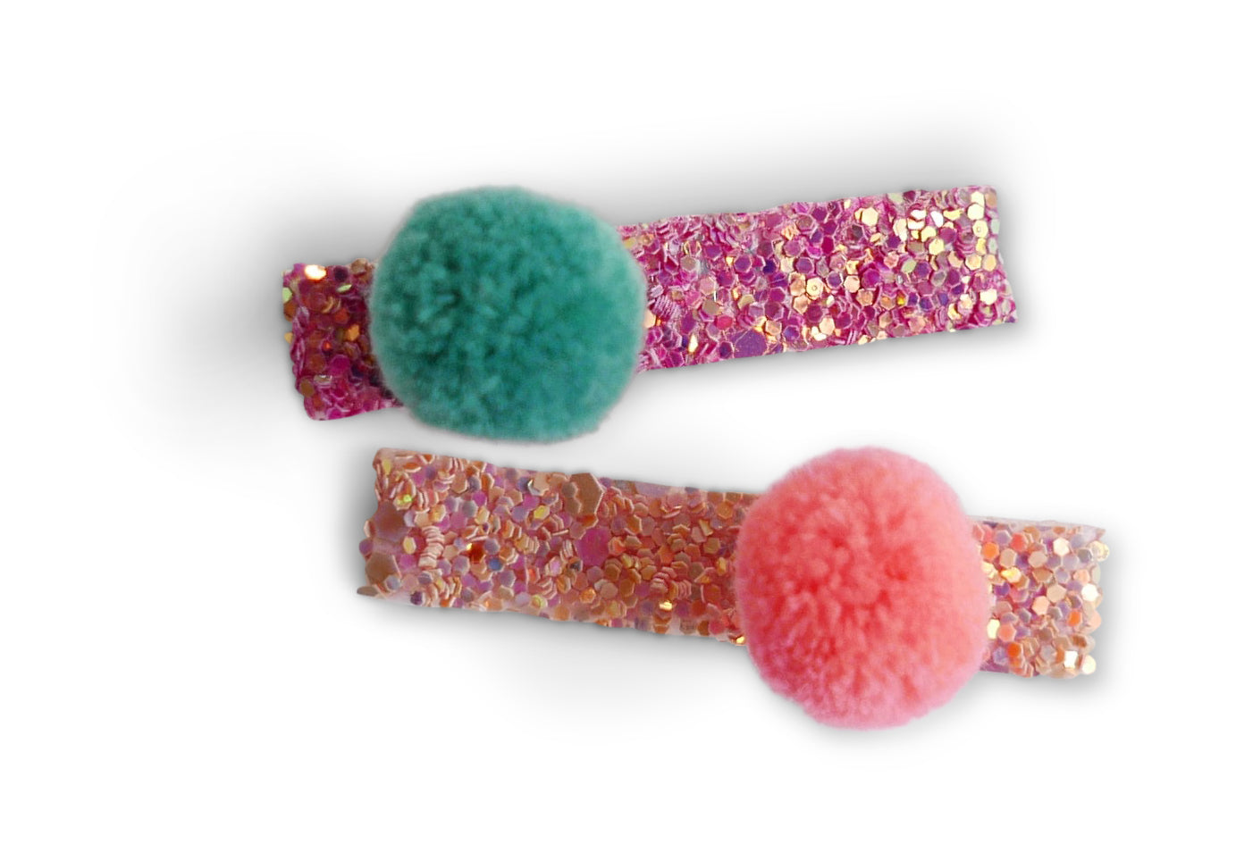 Pom Pom Alligator Clip Set