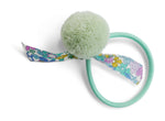 Sea Foam Pom Pom big girl hair tie band