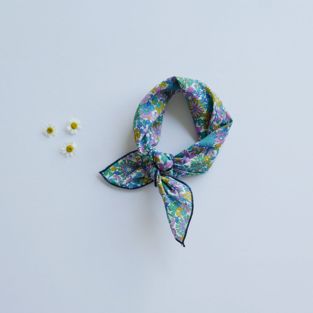 Adult Kerchief in Clementine Liberty